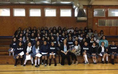 Casa de Misericordia visits St. Augustine Middle