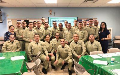 Laredo Law Enforcement Academy Visits Casa
